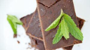 Mint Chocolate Black Bean Brownies