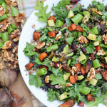 Roasted Vegetable Quinoa Kale Salad
