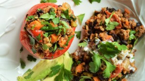 Mexican Stuffed Red Peppers