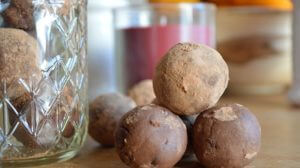 Double Chocolate-Chip Cookie Dough Truffles