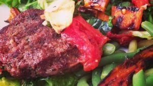 Rosemary Minted Lamb Burgers
