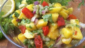 Cilantro Mango Salsa