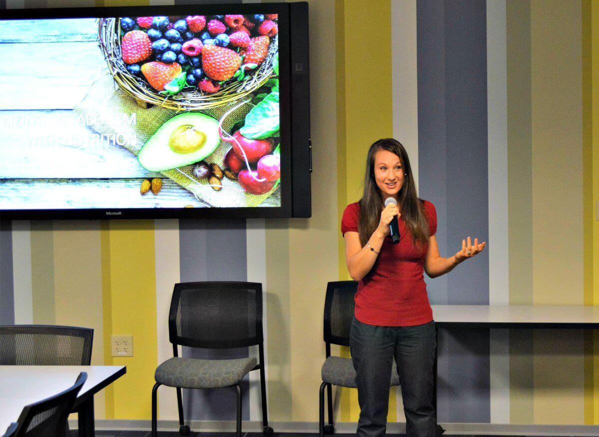 Nutrition Seminar, Speaking Engagements, corporate wellness, worksite wellness
